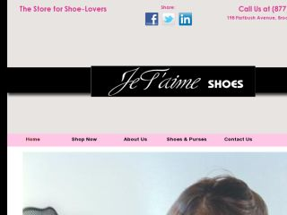 Shop at jetaimeshoes.com