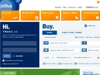 Shop at jetblue.com
