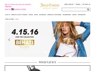 Shop at juicycouture.com