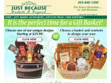 Justbecausebaskets.com Coupon Codes