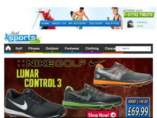 Shop at justgolfonline.co.uk