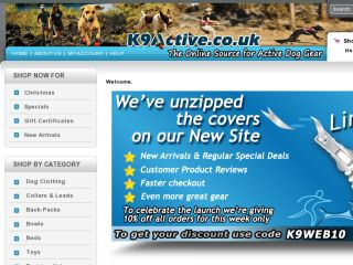 Shop at k9active.co.uk