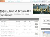 Kairosukconference.eventbrite.com Coupons