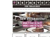 Browse Karmavore Vegan Shop