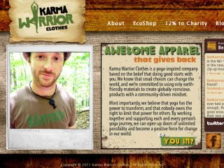 Shop at karmawarriorclothes.com