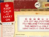 Browse Keep Calm And Carry On Store