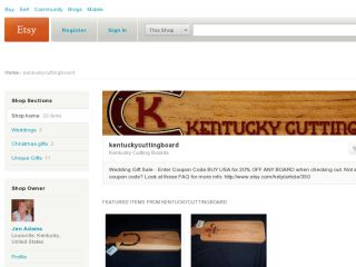 Shop at kentuckycuttingboard.etsy.com