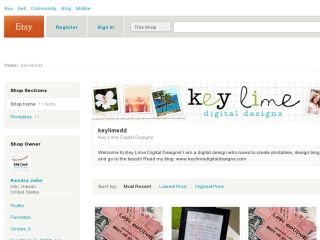 Shop at keylimedd.etsy.com