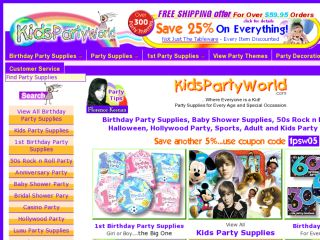 Shop at kidspartyworld.com