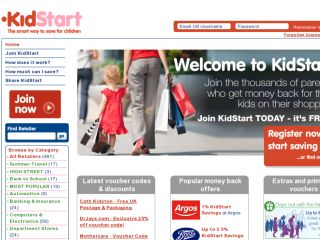 Shop at kidstart.co.uk