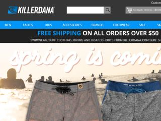 Shop at killerdana.com