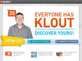 Shop at klout.com