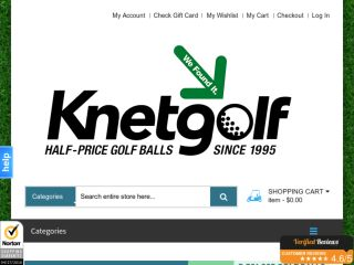 Shop at knetgolf.com