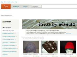 Shop at knitsbywlsm12.etsy.com