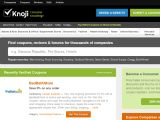 Browse Daily Coupons & Deals On Knoji