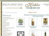 Browse Koehler Home Decor