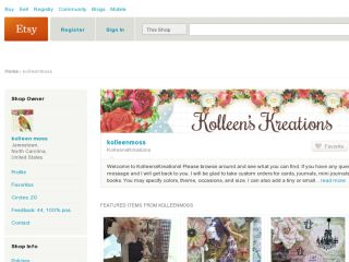 Shop at kolleenmoss.etsy.com