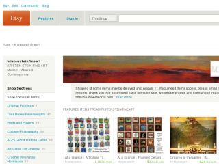 Shop at kristensteinfineart.etsy.com