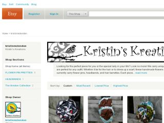 Shop at kristinmclendon.etsy.com