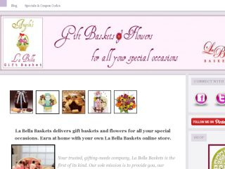 Shop at labellagiftbasket.com