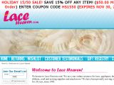 Laceheaven.com Coupons