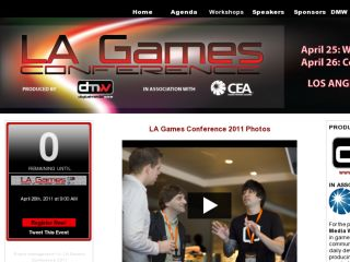 Shop at lagamesconference.com