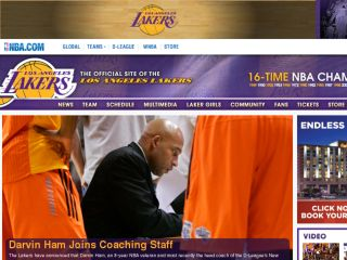 Shop at lakers.com