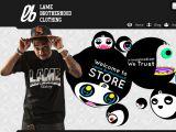 Browse Lame Brotherhood Clothing