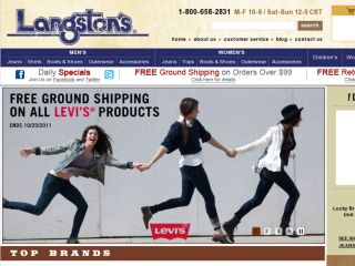 Shop at langstons.com
