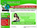 Browse Language Lizard