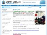 Browse Lazar's Luggage Superstore