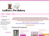 Browse Ledfoots Pet Bakery