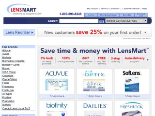 Shop at lensmart.com