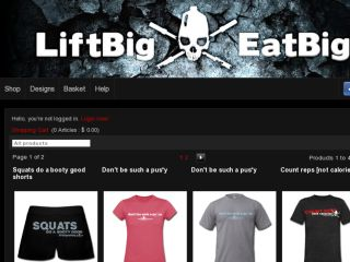 Shop at liftbigeatbig.spreadshirt.com