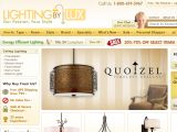 Browse Lighting By Lux