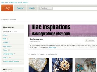 Shop at lilacinspirations.etsy.com