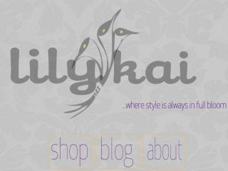 Shop at lilykai.net