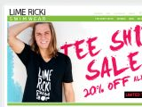 Browse Lime Ricki Swimwear