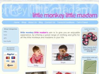 Shop at littlemonkeylittlemadam.co.uk