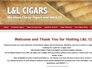Shop at lnlcigars.com