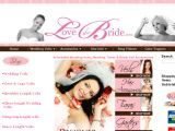 Browse Love The Bride