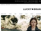 Browse Lucky Brand