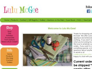 Shop at lulumcgee.com