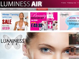 Shop at luminessair.co.uk
