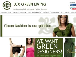 Shop at luxgreenliving.com