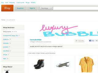 Shop at luxurybubble.etsy.com