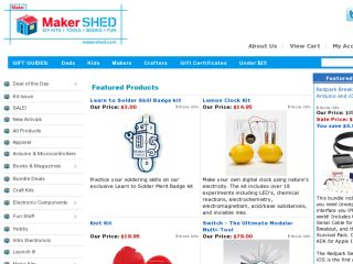 Shop at makershed.com