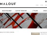 Browse Malouf Fine Linens