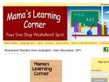 Browse Mama's Learning Corner