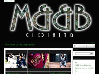 Shop at mandbclothing.bigcartel.com